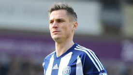 Markus Rosenberg failed to score for West Brom.