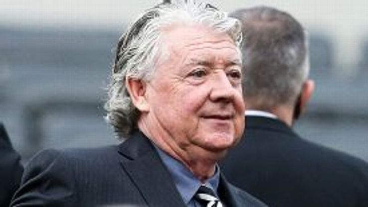 Joe Kinnear, pictured at the St James' Park game against Southampton.