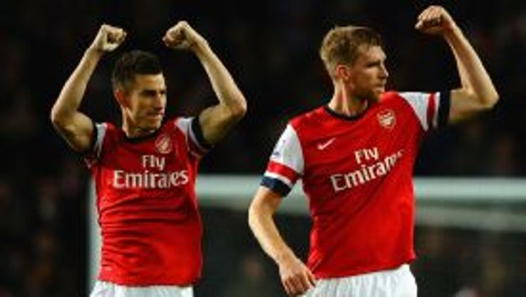 Per Mertesacker and Laurent Koscielny's partnership has been one of the major factors in Arsenal's success this season.