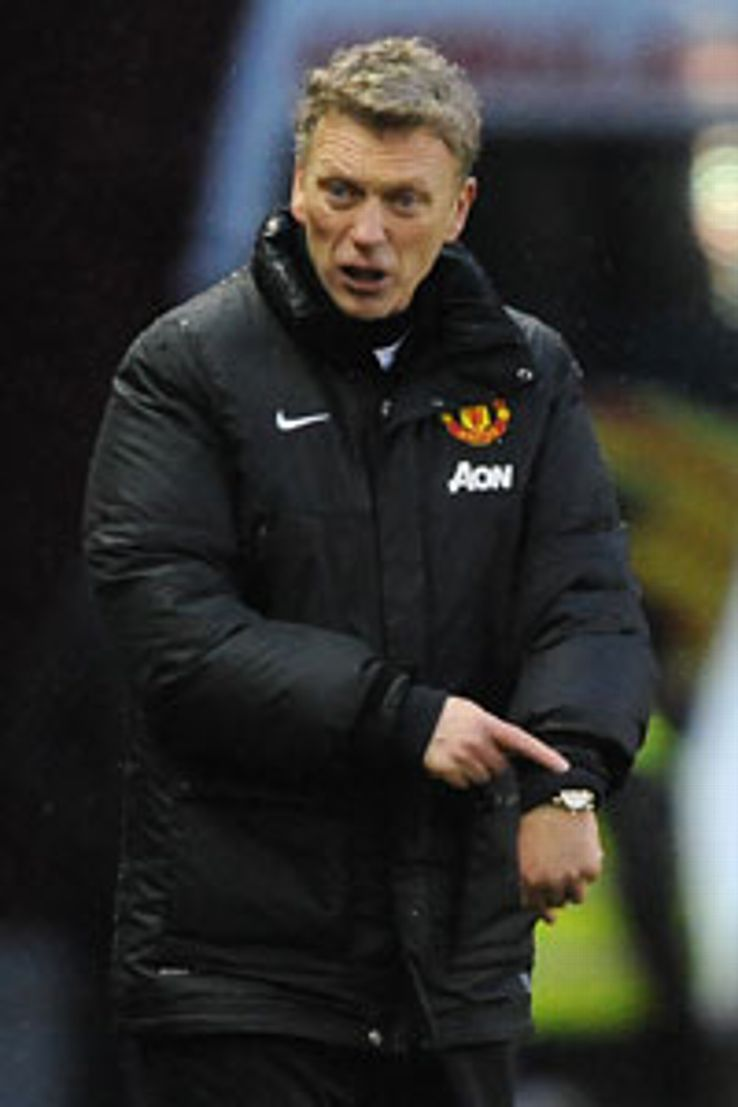 David Moyes has not enjoyed as much added time as Sir Alex Ferguson.