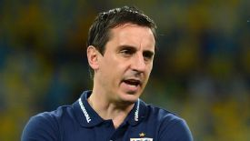Gary Neville still hopes Manchester United will qualify for the Champions League.