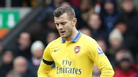 Jack Wilshere reacts to Arsenal's terrible start at Anfield.