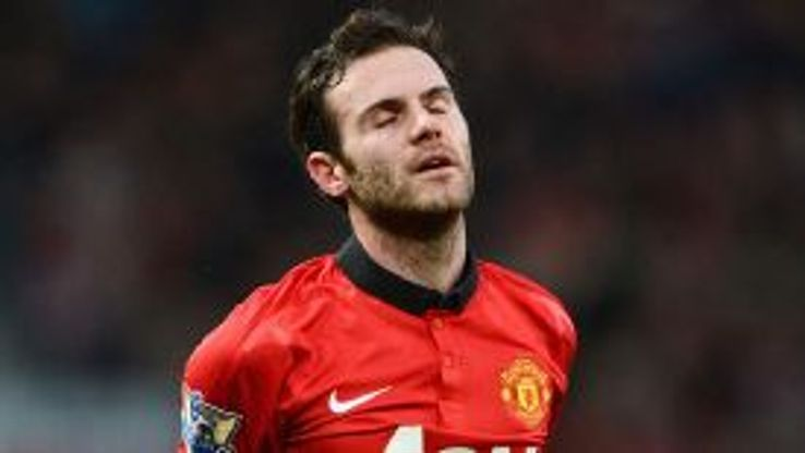 Juan Mata rues a missed opportunity.