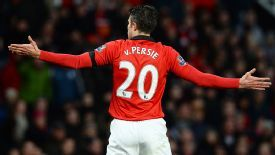 Robin van Persie has struggled this season.