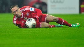 Ribery is recovering from surgery on a gluteal muscle.