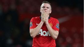 Cleverley has struggled to win Man United fans over.