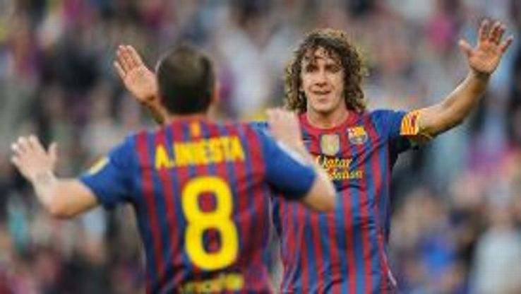 Andres Iniesta and Carles Puyol are among the stars backing the campaign.