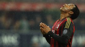 Robinho appears unlikely to be available for the first leg against Atletico Madrid.