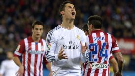 Cristiano Ronaldo scream vs Atletico Madrid