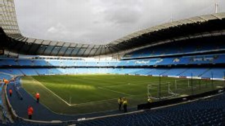 Manchester City moved into the Etihad Stadium in 2003.