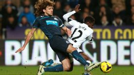 Fabricio Coloccini has been absent for more than a month with injury.