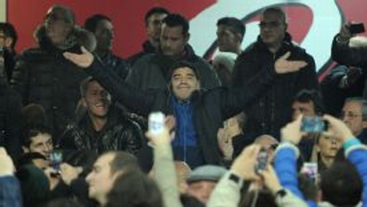 Diego Maradona is a Napoli legend.
