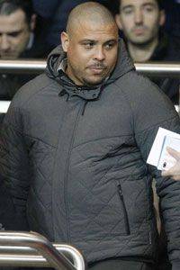 Ronaldo was at the Parc des Princes to see PSG beat Valenciennes