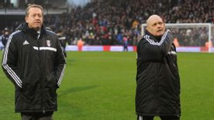 Curbishley and Wilkins only joined Fulham's coaching staff in December.