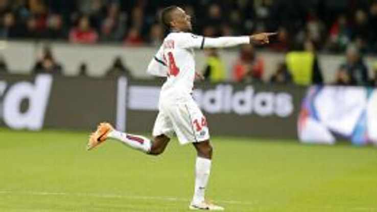Blaise Matuidi gave PSG the perfect start in Leverkusen with a goal inside three minutes at the BayArena.