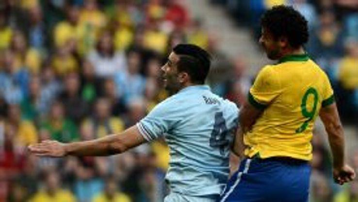 Adil Rami France vs Brazil
