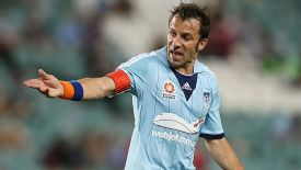 Alessandro Del Piero in action for Sydney.