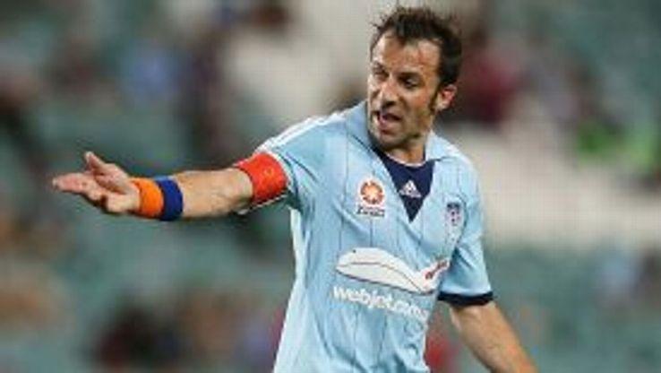 Alessandro Del Piero in action for Sydney.
