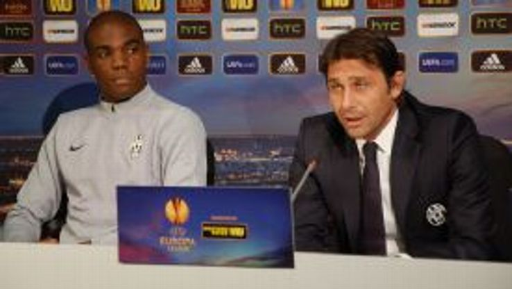 Antonio Conte says Juventus are taking the Europa League seriously.