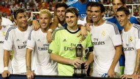 Real Madrid won last season's tournament.