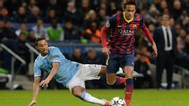 Neymar Barcelona vs Manchester City