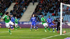 Brandao scores for St Etienne.