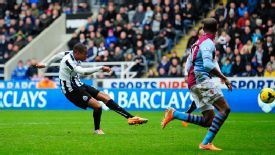 Loic Remy fired home a late winner for Newcastle versus Aston Villa.