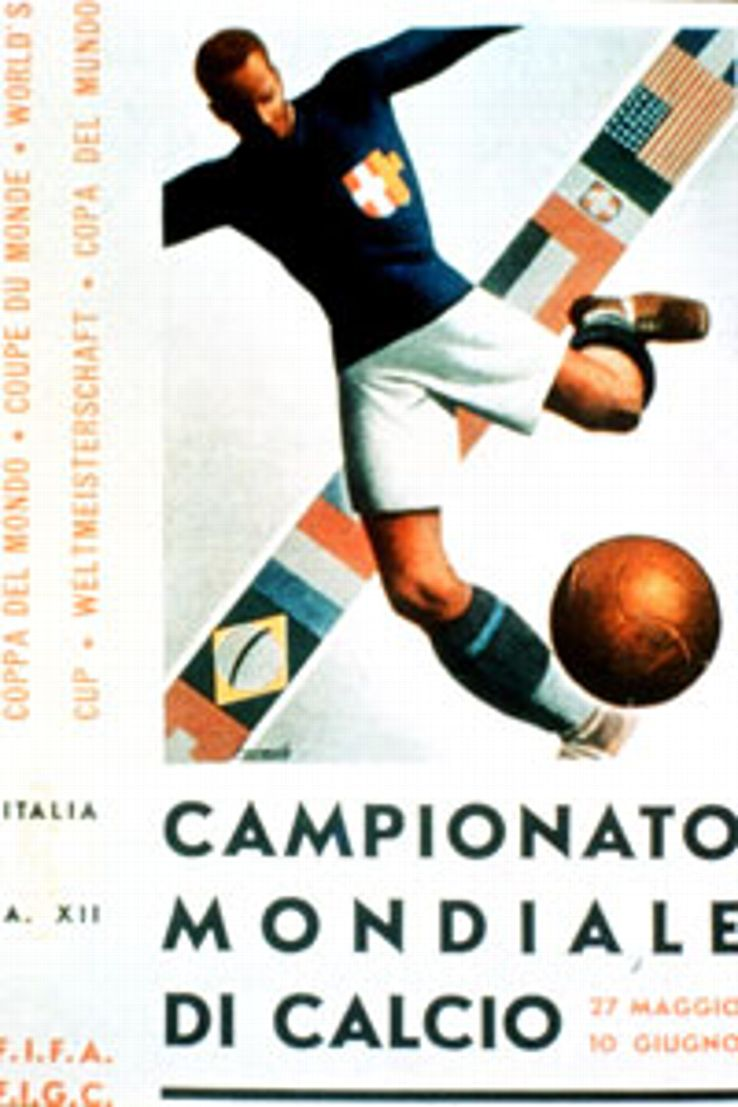 The official 1934 World Cup poster.
