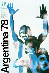 The official poster for the 1978 World Cup.