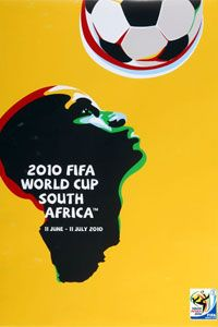 The official poster for the 2010 World Cup.