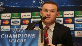 Wayne Rooney Champions League presser
