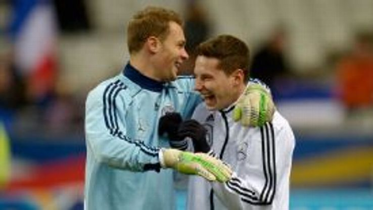 Julian Draxler said Manuel Neuer had been
