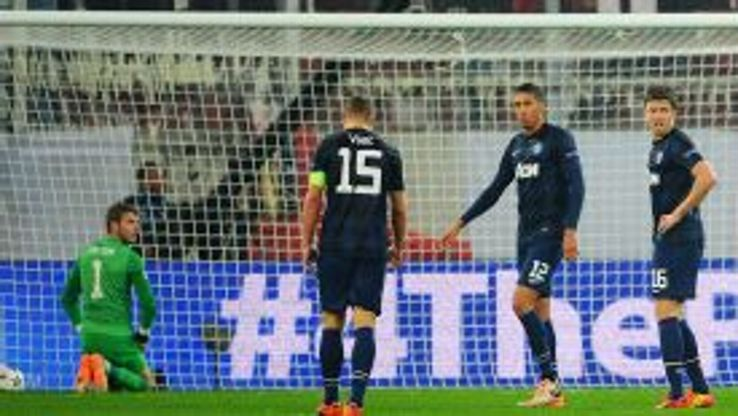 MAn Utd defensive woe vs Olympiakos
