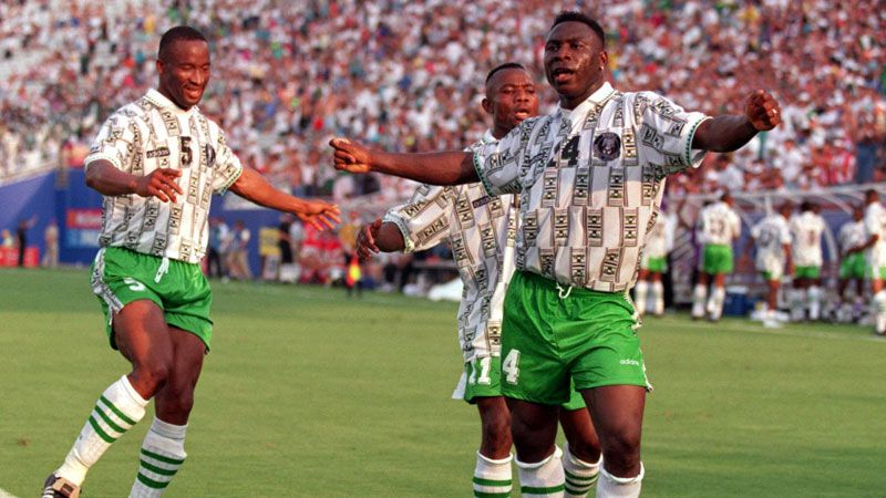 Daniel Amokachi helped put Nigeria on the map.
