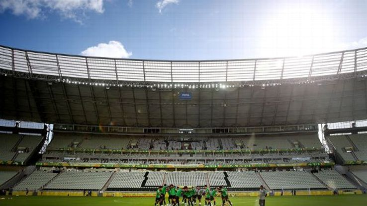 The Estadio Castelao in Fortaleza is likely to provide the toughest test.