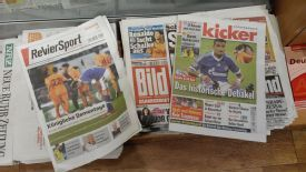 Germany's newspapers reflected on a miserable night for Schalke on Thursday.
