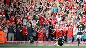 Dejan Lovren celebrates his goal against Liverpool.