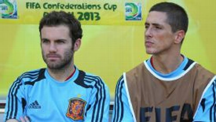 Mata and Torres are among the big names left out for the friendly against Italy.