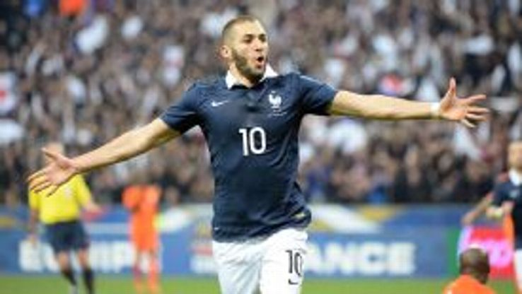 Benzema scored his 19th international goal.