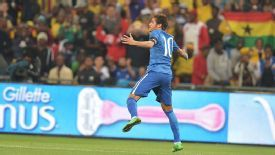 Neymar helped himself to a hat trick against South Africa.