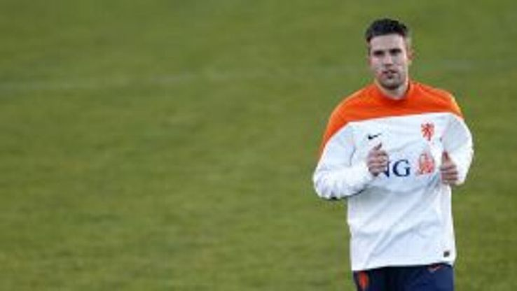 Robin van Persie is suffering with an illness.