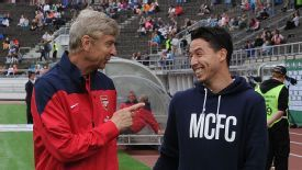 Samir Nasri feels Arsene Wenger has been unfairly maligned.