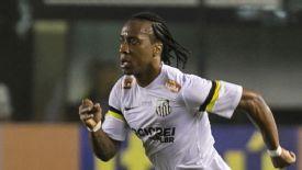 Santos midfielder Arouca has played for Brazil four times.