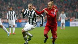 Arjen Robben turned down a move to Juventus in 2012, then helped knock them out of the Champions League in 2013.