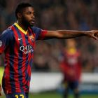 Alex Song has been restricted to just nine La Liga starts so far this season.