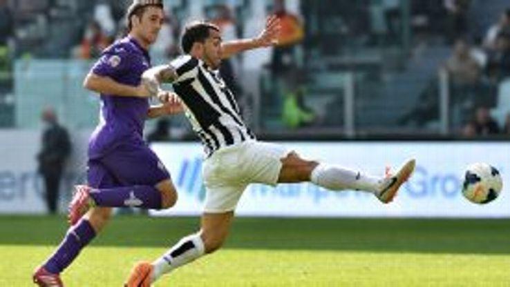 Carlos Tevez Juventus vs Fiorentina