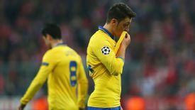 Mesut Ozil will be a big miss for the Gunners.