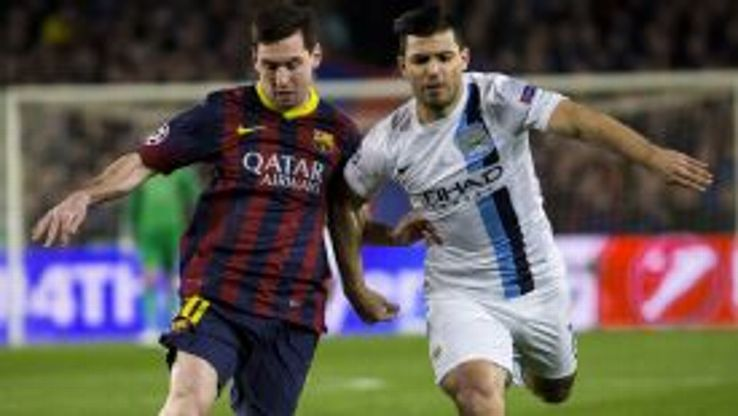 Sergio Aguero could not help Manchester City turn their UCL tie around in Barcelona.