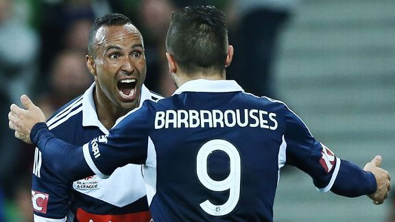 Archie Thompson secured a late win for Melbourne Victory.
