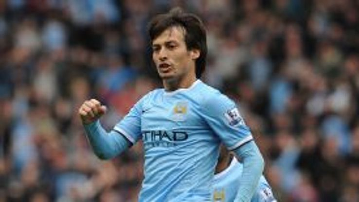 David Silva curled home expertly to put City in front at Hull.